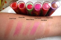 Pink punch is a dupe for the new Fresh sugar tulip colored lip product! Eye Candy Makeup, Fresh Sugar Lip, Too Faced Lipstick, Baby Lips Maybelline, Pink Punch, Wedding Day Makeup, Makeup Swatches, Pink Lips, Lip Colors