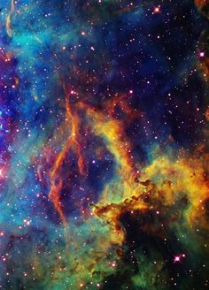 Rosette Nebula the colors in this picture are incredible! Cosmos, Hubble Space, Space And Astronomy, Space Telescope, Space Shuttle, Galaxy Space, Galaxy Art, Space Photos, Wow Art