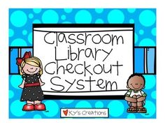 This is a quick and easy way to monitor your library system! Your students… Library Checkout System, Classroom Library Checkout, Class Library, Library Wall, Library Organization, Organization And Management, Classroom Management, Organization Ideas, Ar Reading
