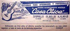 Casa Chica Guitarras 1945's