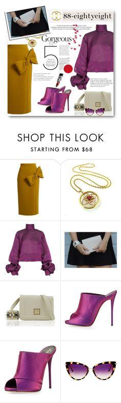 """Luxury Fashion Autumn with 88 - Win a bag!"" by anitadz ❤ liked on Polyvore featuring Roksanda, Lana Mueller, Giuseppe Zanotti, Louis Vuitton, Dita, bag and EightyEight"