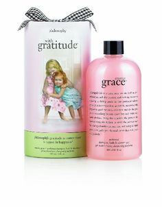 Philosophy with Gratitude Amazing Grace Perfumed Shampoo Bath  Shower Gel 16Ounce. This is surely a great product!