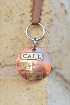 Key Chain key fob key holder key hook Copper by SwankyDogBoutique