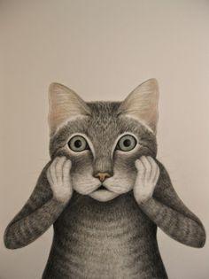 Oh gatto; by Lisa Andrea Padova, Italy