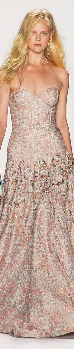 Badgley Mischka  Spring 2015 Ready to wear