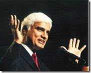 A man rejects God neither because of intellectual demands nor because of the scarcity of evidence...    - Ravi Zacharias