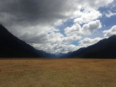 Haast Pass, South Island of New Zealand
