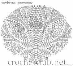 Crochet Knitting Handicraft: napkins new 6 Crochet Diy, Crochet Home Decor, Crochet For Kids, Crochet Doilies, Crochet Stitches, Crochet Tablecloth, Doily Patterns, Crochet Patterns, Ribbon Design