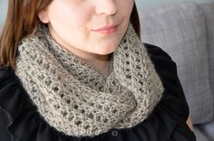 Oatmeal Crochet Infinity Scarf - Unisex Infinity Scarf Simple one tone scarf. A warm infinity scarf knitted with wool. Hand wash and lay flat. Color Pop, Infinity, Oatmeal, My Etsy Shop, Advertising, Unisex, Wool, Boutique, Spring
