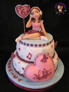 Violet cake!!! © DOLCEmente Sheila