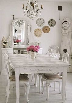 601 Best Shabby Chic Dining Images In 2019 Shabby Chic Decorating