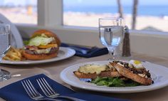 Lunch with a view! Casablanca Inn at Santa Cruz #travel #vacation #food