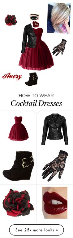 """""""Untitled #303"""" by seksikasmango on Polyvore featuring VIPARO, Charlotte Russe, Alessandra Rich, Max Factor and Charlotte Tilbury"""