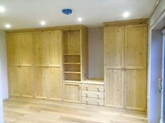 Our latest fitted wardrobe made in sunny Cornwall.