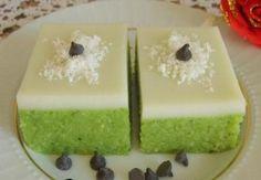 Ispanaklı Sütlü Irmik Tatlısı — Resimli Yemek Tarifleri