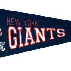 New York Giants NFL Throwback Pennant (13x32)