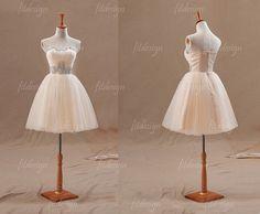 robe de bal courte robe de bal tulle robe de bal par fitdesign