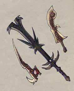 Weaponry 50 by Random223.deviantart.com on @deviantART #weaponart #swordsart