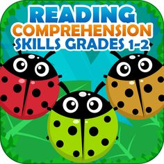 #Reading Comprehension Skills – Grades 1st and 2nd And Test Prep  Kids will love this reading app!