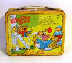 The Berenstain Bears Vintage Metal Lunch Box by peachiepockets, $15.00