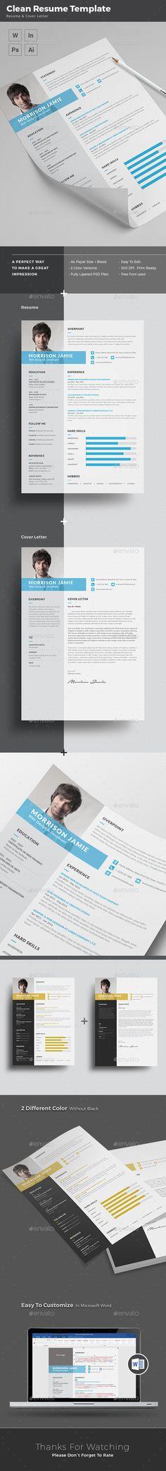 Resume  — PSD Template #resume creative #resume portfolio • Download ➝ https://graphicriver.net/item/resume/15355494?ref=pxcr