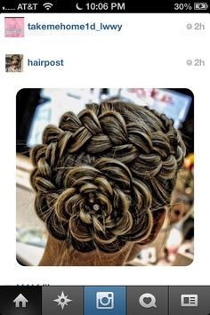 This hair style is cute