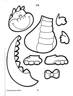 Cut and color dinosaurs color, Cut, Dinosaurs Dinosaur Worksheets, Dinosaur Activities, Dinosaur Projects, Dinosaur Crafts, Dinosaurs Preschool, Preschool Crafts, Coloring For Kids, Coloring Books, Dinosaur Cut Outs