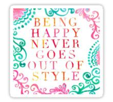 Lilly Pulitzer - Happy Never Goes Out of Style Sticker