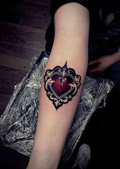 heart tattoos designs (16)  #RePin by AT Social Media Marketing - Pinterest Marketing Specialists ATSocialMedia.co.uk