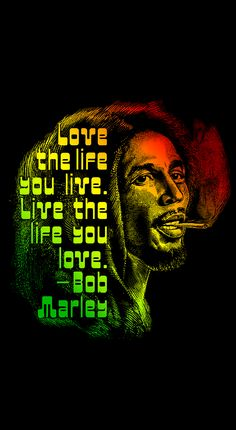 """Discover Smoke & Raggae Color T-Shirt from Art instinct, a custom product made just for you by Teespring. - Smoking Bob, with a saying: """"love the life you. Bob Marley Painting, Bob Marley Art, Black Art Painting, Black Artwork, Bob Marley Colors, Reggae Art, Reggae Music, Jamaican Art, Dope Wallpapers"""