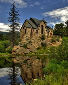 Chapel on the Rock, Allenspark, Colorado - This is pretty amazing, been here a few times and every time is special.