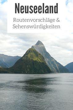 Neuseeland: Reisetipps, Routenvorschläge & Sehenswürdigkeiten - die besten Tipps & Fotos für deinen Urlaub im Reiseblog