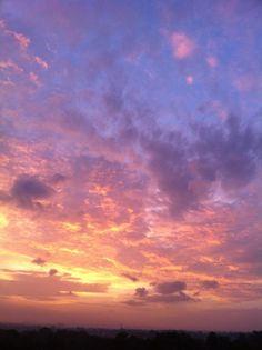Sunrise...colours are breathtaking!!