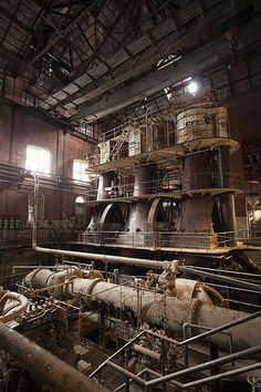 Allis Chalmers Triple Expansion Steam Engine
