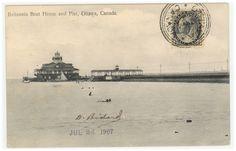 Canada 1907 - 1/2 Cent Black - Britannia house Ottawa - RARE
