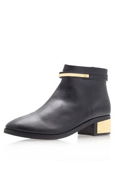 **Vice Block Heel Ankle Boots by Kurt Geiger