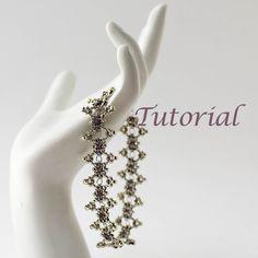 Beaded Bracelet Tutorial Chain Lace. $5.00, via Etsy. Love it! Must try! #ecrafty