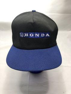 786b3cf04d2 Honda Hat Vintage USA Made Snapback Racing Cars Cap  MB
