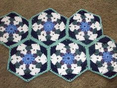 Ravelry: Project Gallery for Rockland Throw pattern by Doris Chan