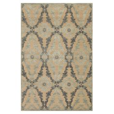 """Loomed art silk rug with a trellis-inspired motif. Made in Turkey.  7'6""""X 10'6"""" $401.95   Product: RugConstruction Material: Art silk"""