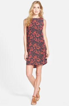 Caslon® Woven Shift Dress (Regular & Petite) available at #Nordstrom