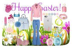"""Happy Easter"" by sofi6277 ❤ liked on Polyvore featuring Casetify, Boutique Moschino, STELLA McCARTNEY, Chiara Ferragni, Blu Bijoux, Dettagli, de Grisogono, Dolce&Gabbana, Marc Jacobs and Deborah Lippmann"