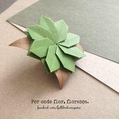 Falk Brito Origami: Por onde flor, floresça...