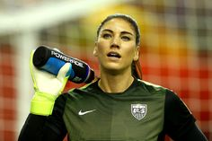 Hottest women soccer players Japan vs USA 2015 World Cup final - Hope Solo