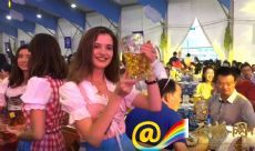 Welcome to Munich beer carnival in Kunming