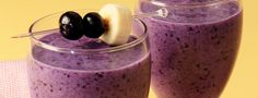 DOLE Blueberry Paradise Smoothie: 1.5 cups Pineapple Chunks, 1 Banana, 1 cup Almond Milk & 1 cup Blueberries.