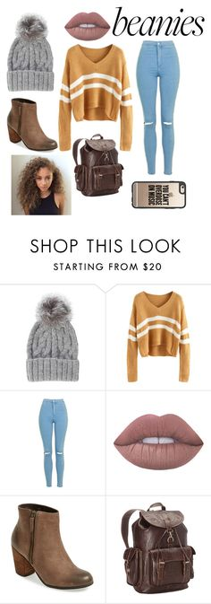 """Beanies"" by alexisjayde16 ❤ liked on Polyvore featuring Eugenia Kim, Topshop, Lime Crime, BP., Ropin West, Casetify and AlexisTaglist"