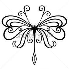 vector-beautiful-dragonfly-exotic-insect-patterned-design-tattoo_155632388.jpg (380×380)
