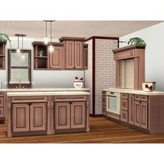 Durham Kitchen ❤ liked on Polyvore featuring empty rooms