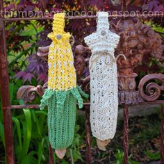 Loom Knit Bag Holder PATTERNS! 2 Patterns included. Hold your plastic bags in style!  PATTERN ONLY!